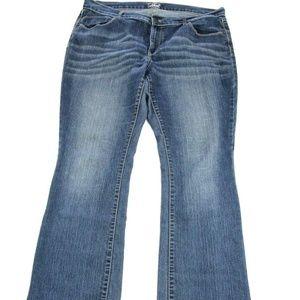 Old Navy Women's The Flirt Jeans Bootcut Size 16